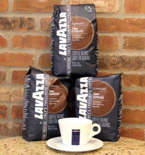 LavAzza Gran Espresso Beans.