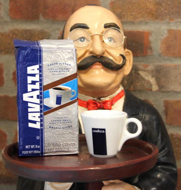 LavAzza Gran Filtro Dark Roast Drip Coffee.