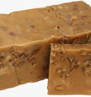 Caramel Pecan Fudge.