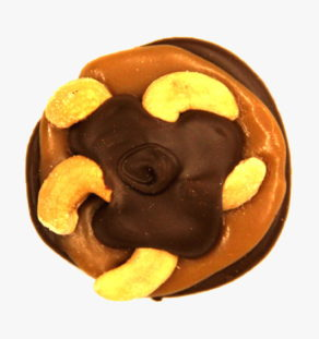 Dark Chocolate Cashew Turtle.