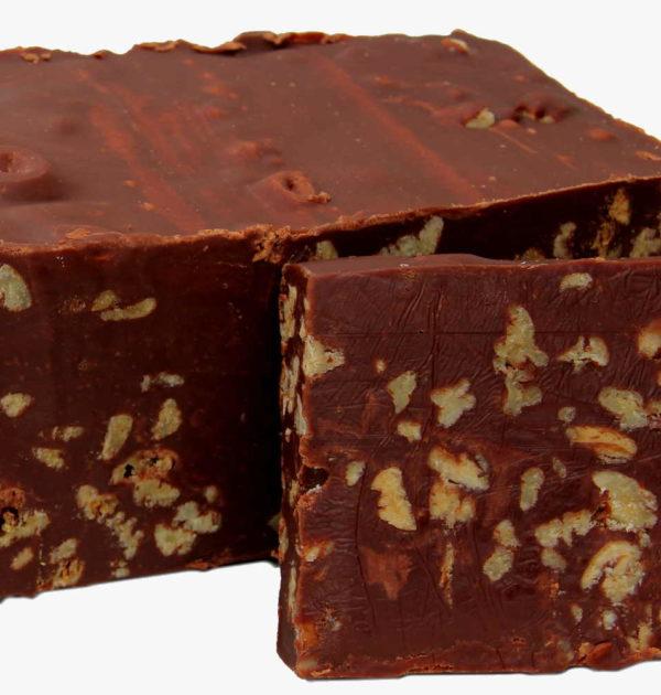 Dark Chocolate Pecan Fudge.