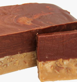 German Chocolate Fudge.