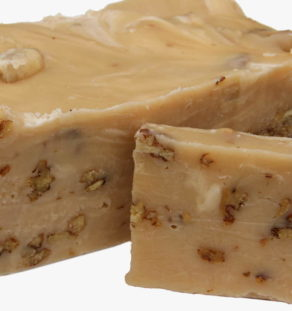Maple Nut Fudge.