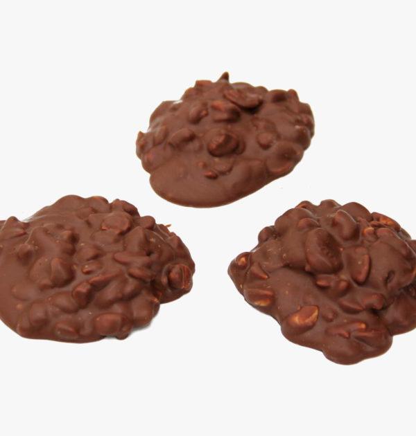 Milk Chocolate Cashew Clusters.