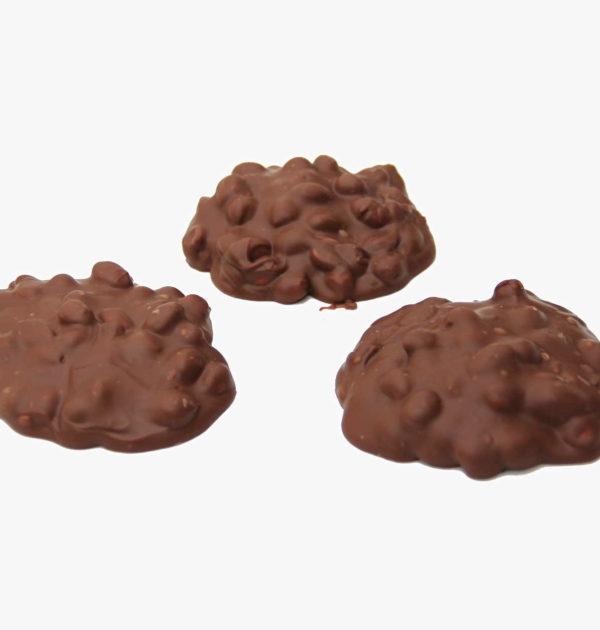 Milk Chocolate Peanut Clusters.