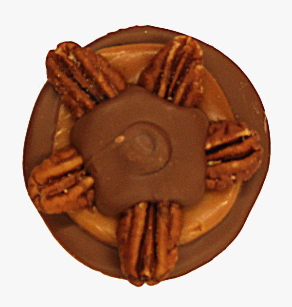 Milk Chocolate Pecan Turtle.
