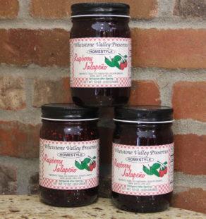 Raspberry Jalapeno Jam.