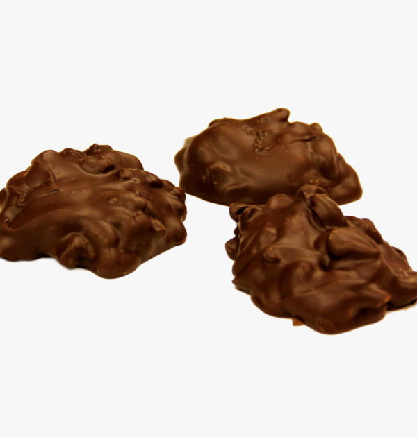 Sugar-Free Dark Chocolate Cashew Clusters.