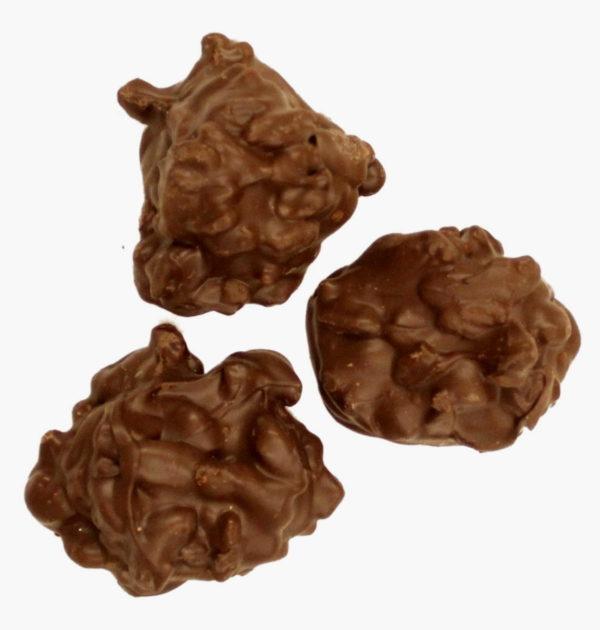 Sugar-Free Dark Chocolate Pecan Clusters.