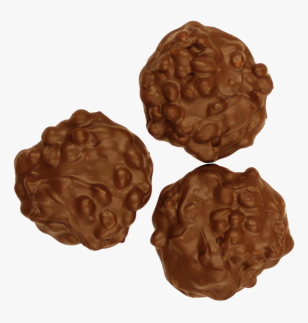 Sugar-Free Milk Chocolate Peanut Clusters.