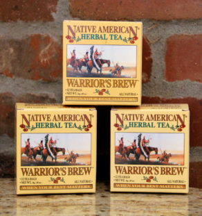 Warrior's Brew Tea.