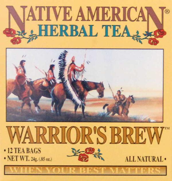 Warrior's Brew Tea.