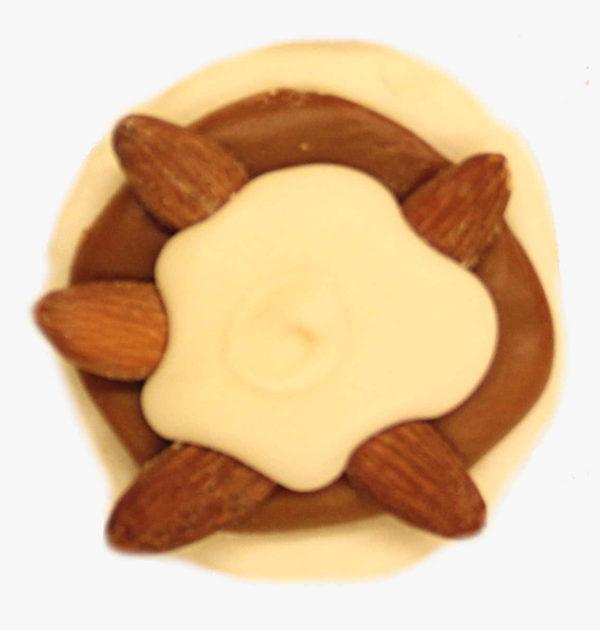 White Chocolate Almond Turtle.