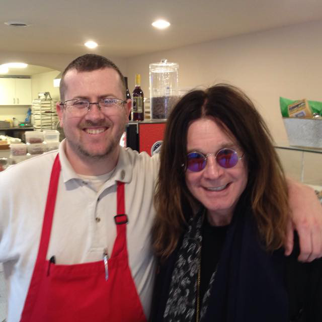 Ozzy Osbourne visits Turtle Town.